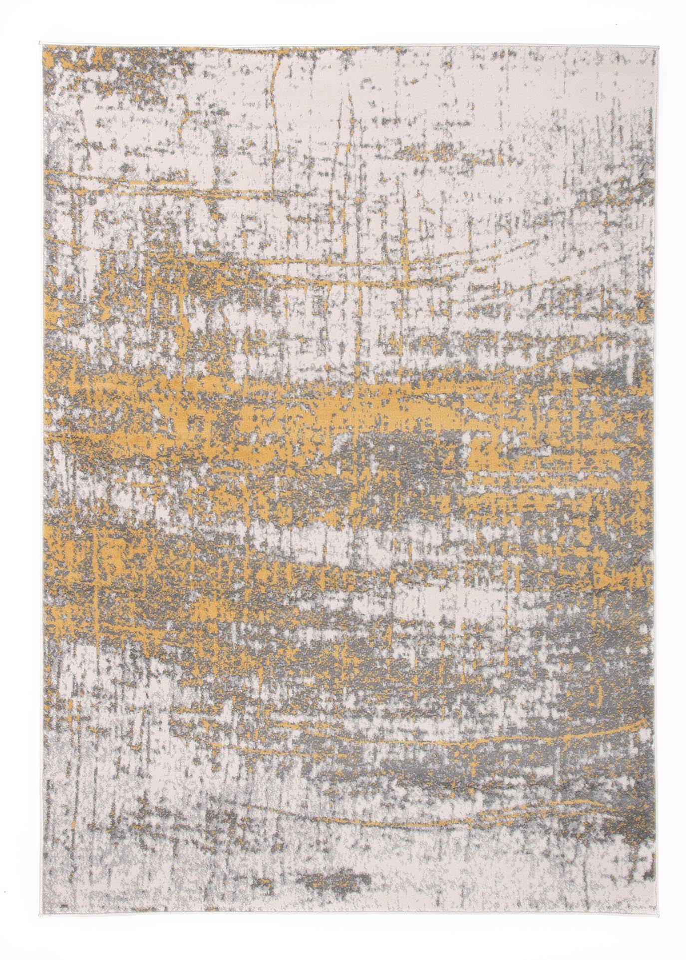Monaco 847 Yellow Area Rug-Area Rug-World Rug Gallery-5' x 7'-The Rug Truck