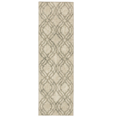 "Karastan Euphoria Potterton Natural-Area Rug-Karastan-2' 4""x7' 10""-The Rug Truck"