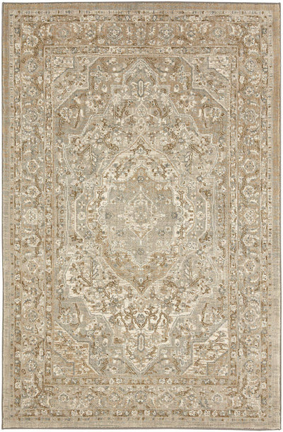 "Karastan Touchstone Nore Willow Grey-Area Rug-Karastan-3' 6""x5' 6""-The Rug Truck"