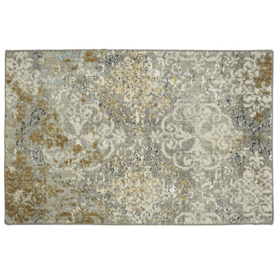 Karastan Touchstone Moy Willow Grey-Area Rug-Karastan-2'x3'-The Rug Truck