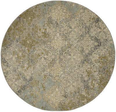 Karastan Touchstone Moy Willow Grey-Area Rug-Karastan-8'x8'-The Rug Truck