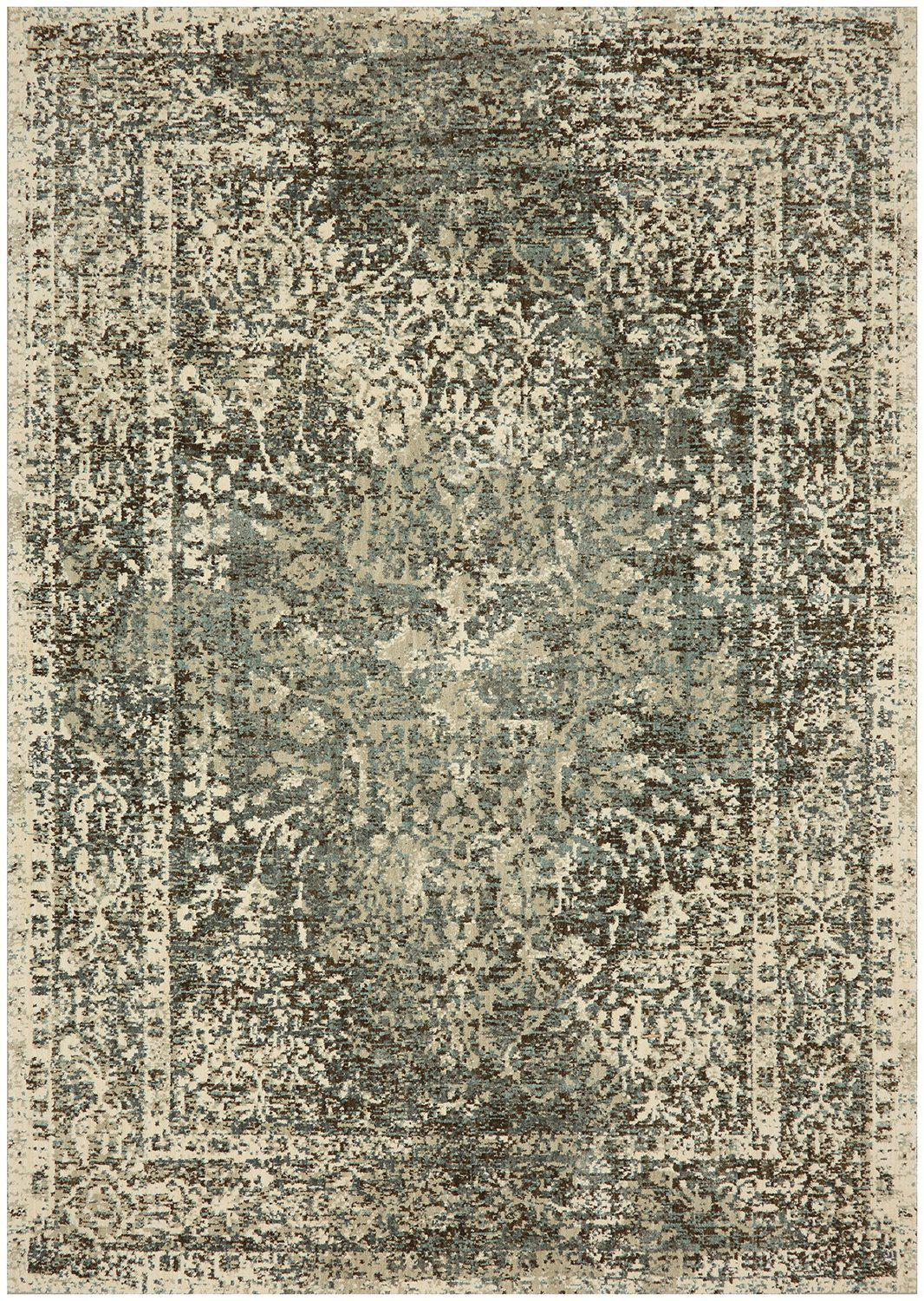 "Karastan Touchstone Sanctuary Sandstone by Virginia Langley-Area Rug-Karastan-3' 6""x5' 6""-The Rug Truck"