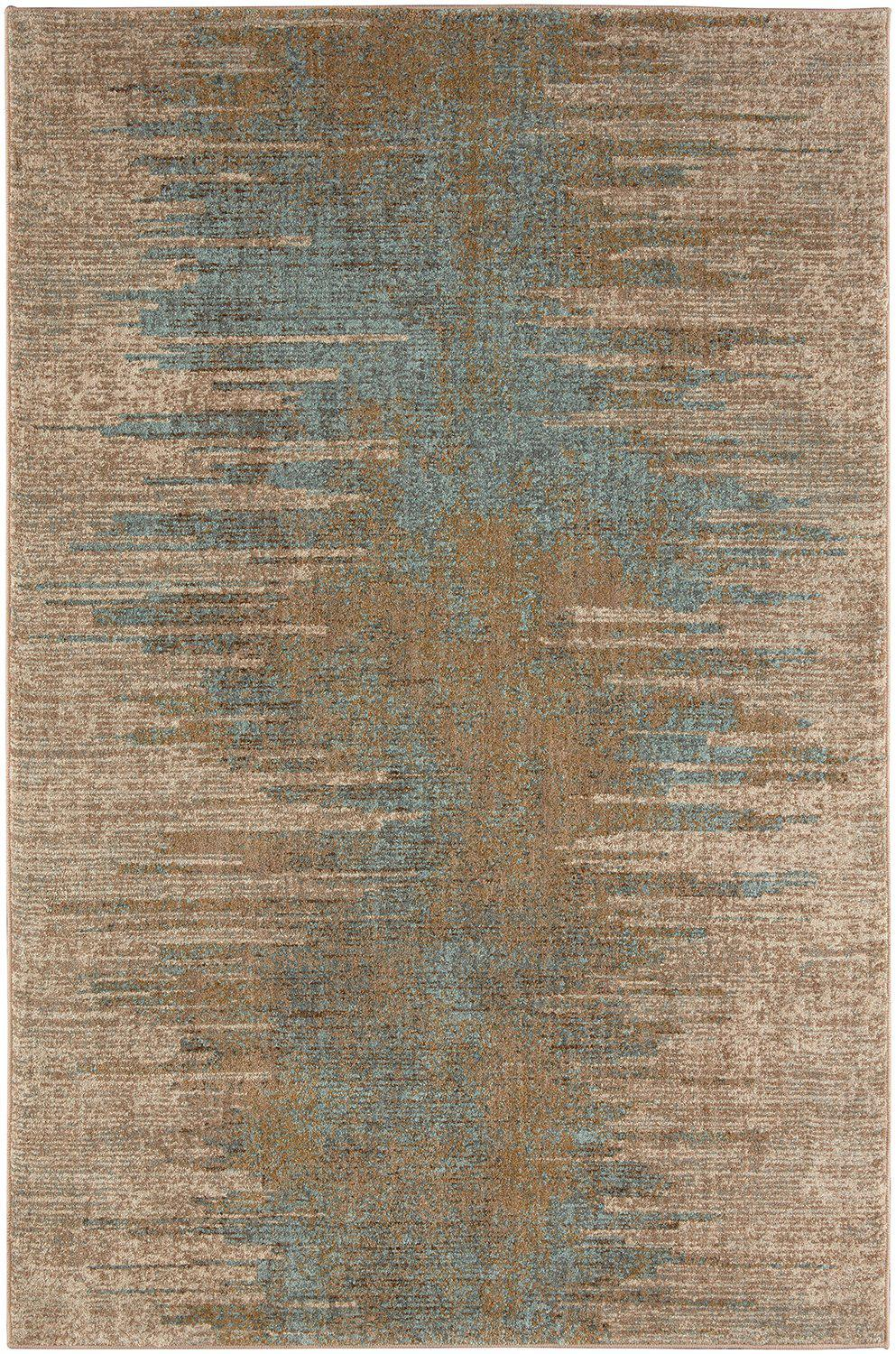 "Karastan Touchstone Arielle Bronze by Virginia Langley-Area Rug-Karastan-3' 6""x5' 6""-The Rug Truck"
