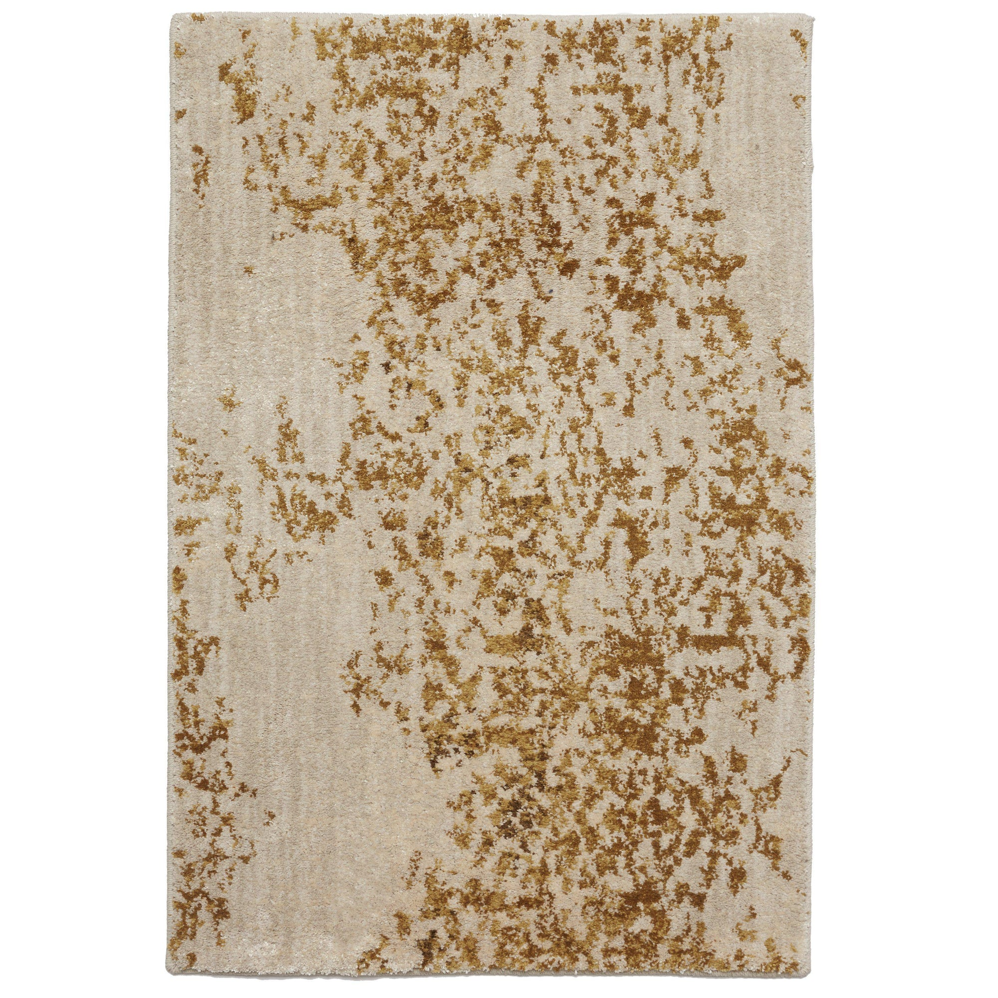 Karastan Cosmopolitan Nirvana Brushed Gold by Virginia Langley-Area Rug-Karastan-2'x3'-The Rug Truck