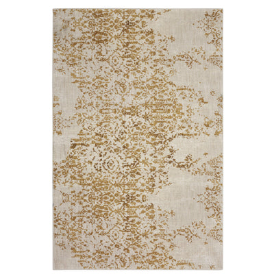 "Karastan Cosmopolitan Nirvana Brushed Gold by Virginia Langley-Area Rug-Karastan-5' 3""x7' 10""-The Rug Truck"