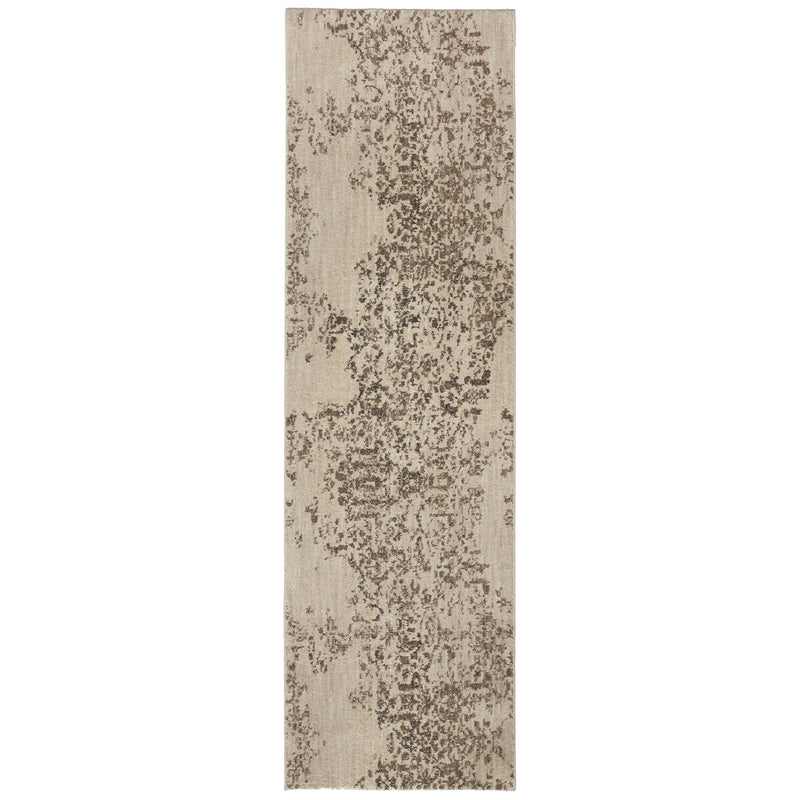 Karastan Cosmopolitan Nirvana Smokey Gray by Virginia Langley-Area Rug-Karastan-2'x3'-The Rug Truck