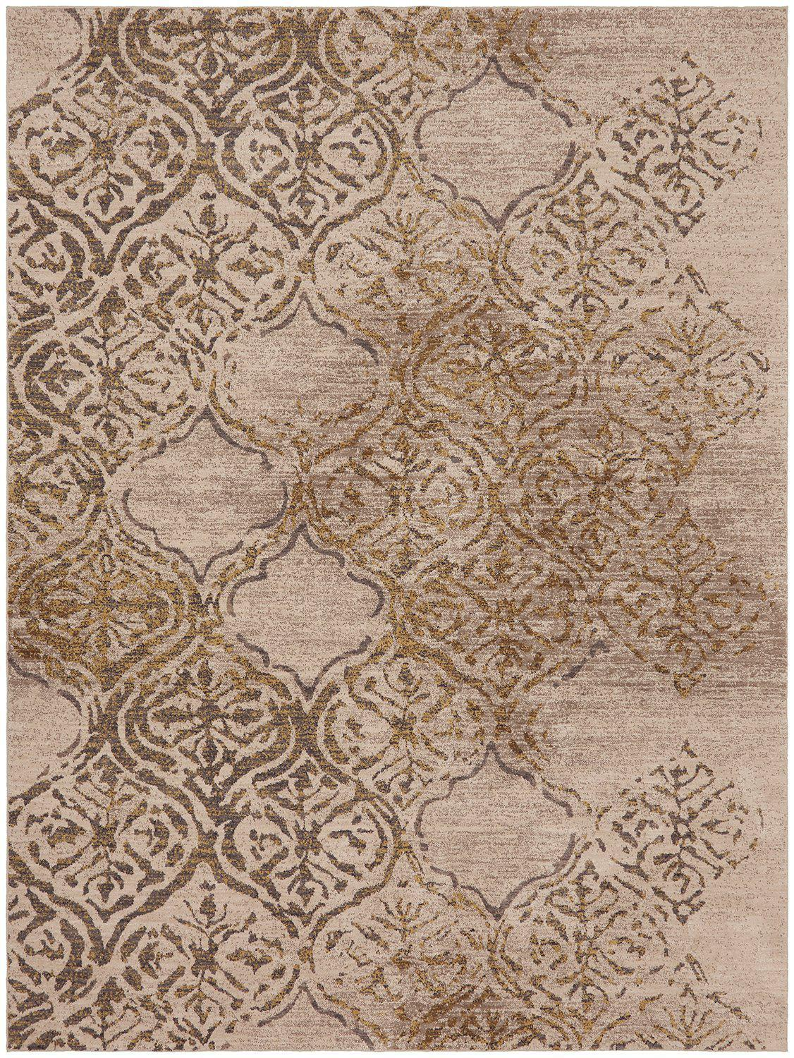 "Karastan Cosmopolitan Zendaya Desert by Virginia Langley-Area Rug-Karastan-5' 3""x7' 10""-The Rug Truck"