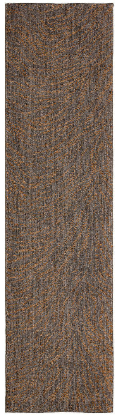 "Karastan Enigma Spectral Brushed Gold-Area Rug-Karastan-2' 4""x7' 10""-The Rug Truck"
