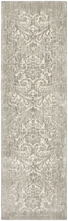 "Karastan Euphoria Barrow Willow Gray-Area Rug-Karastan-2' 4""x7' 10""-The Rug Truck"