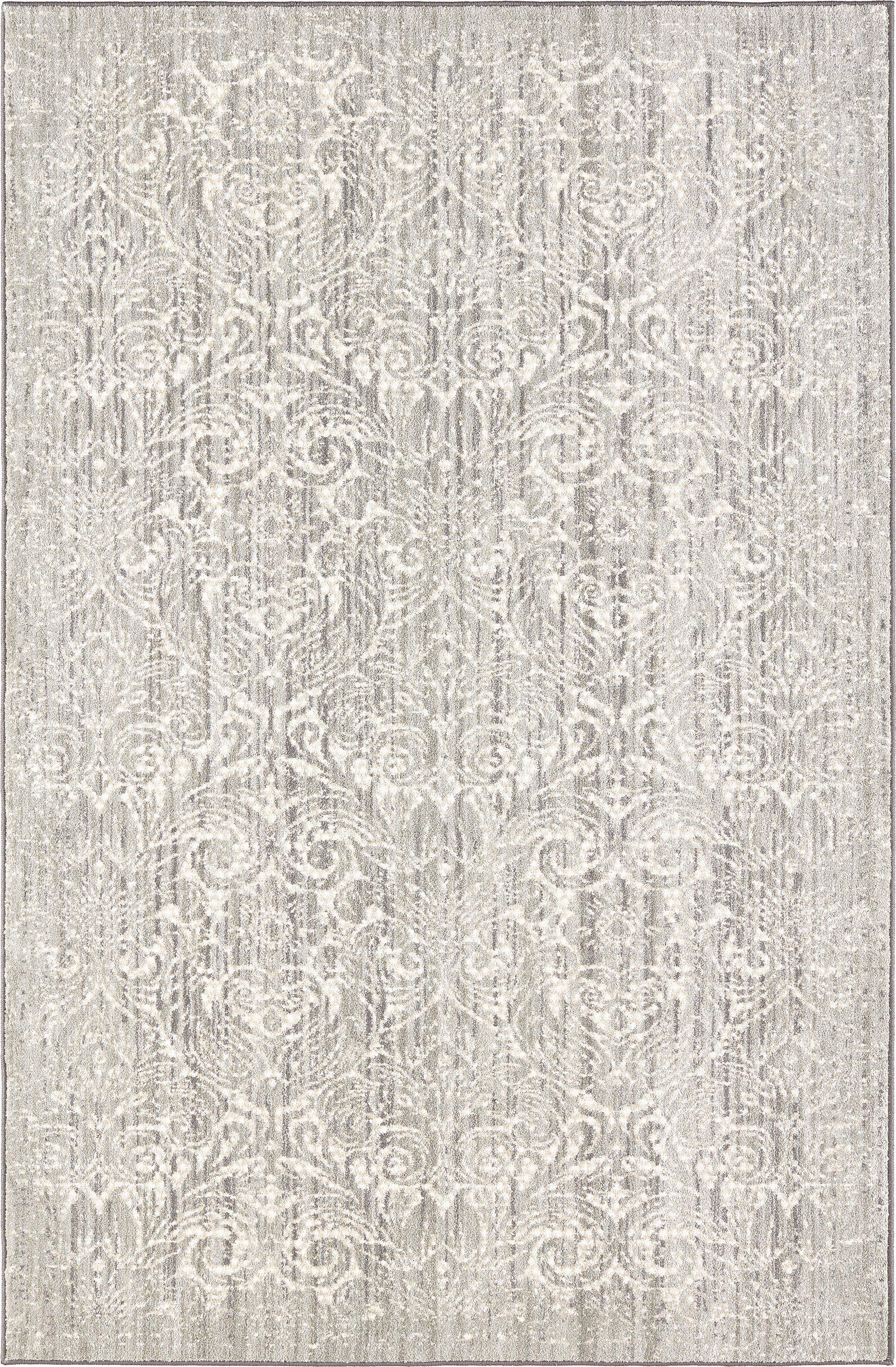 "Karastan Euphoria Barrow Willow Gray-Area Rug-Karastan-3' 6""x5' 6""-The Rug Truck"