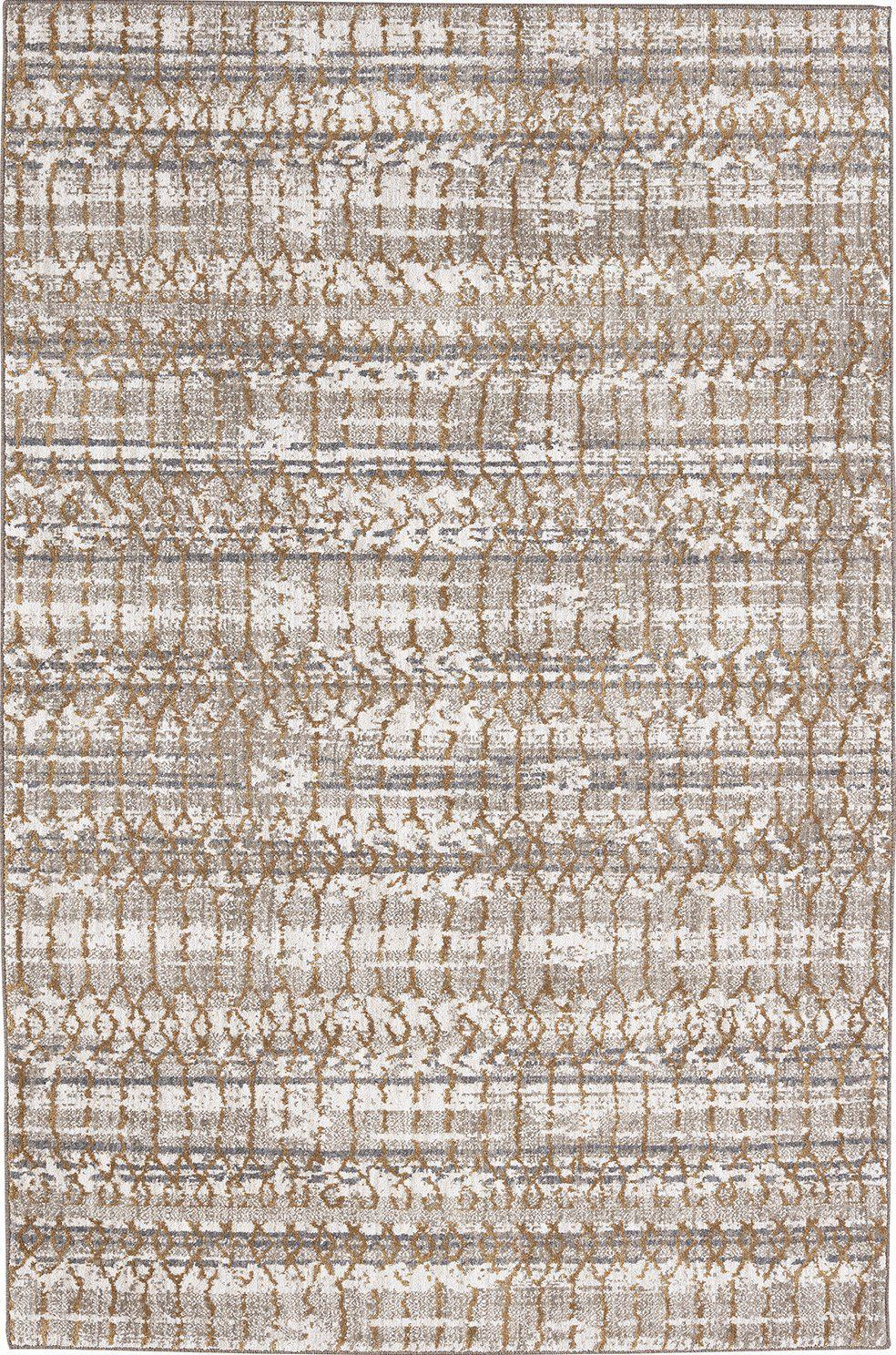 "Karastan Cosmopolitan Flirt Brushed Gold by Patina Vie-Area Rug-Karastan-5' 3""x7' 10""-The Rug Truck"