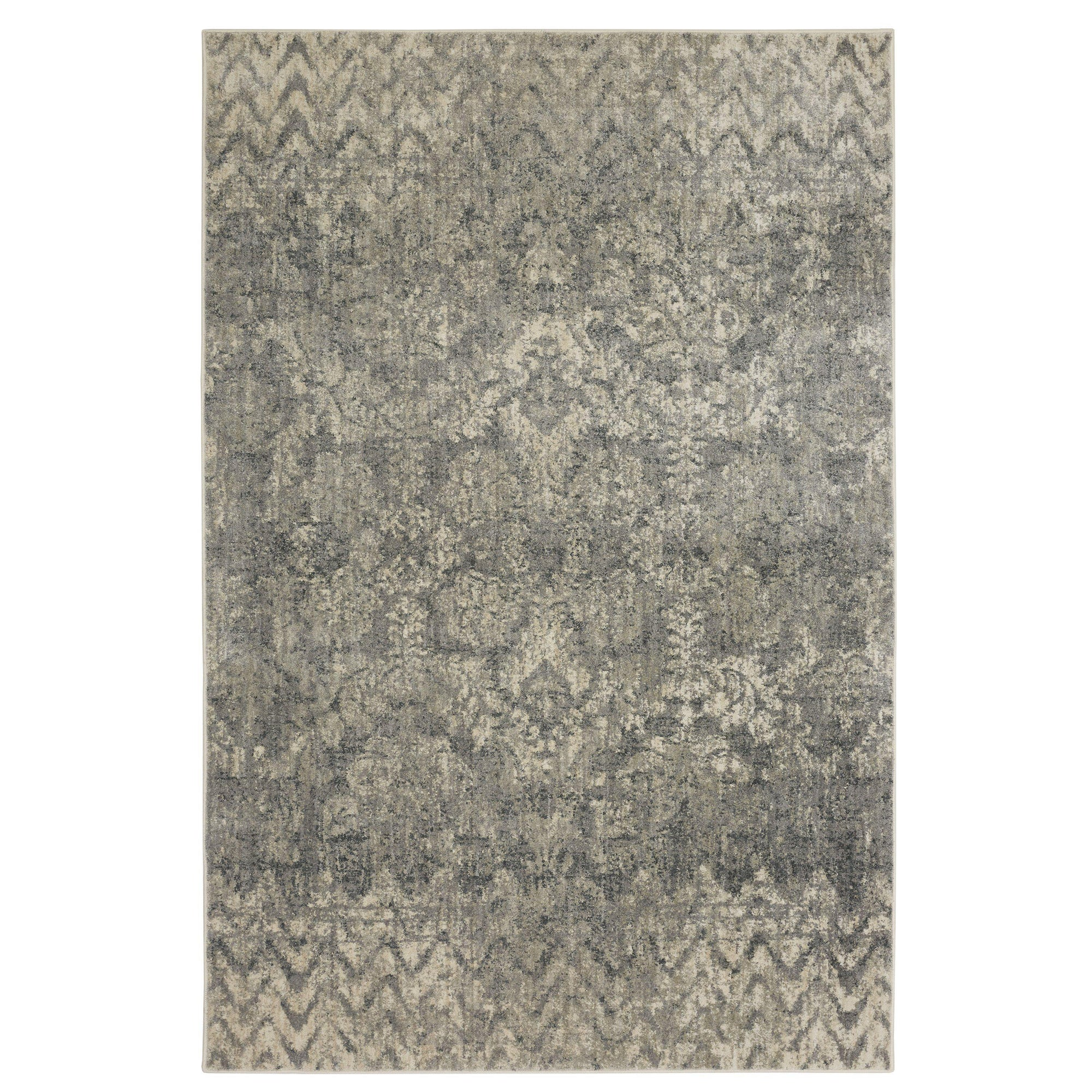 "Karastan Touchstone Le Jardin Natural by Patina Vie-Area Rug-Karastan-3' 6""x5' 6""-The Rug Truck"