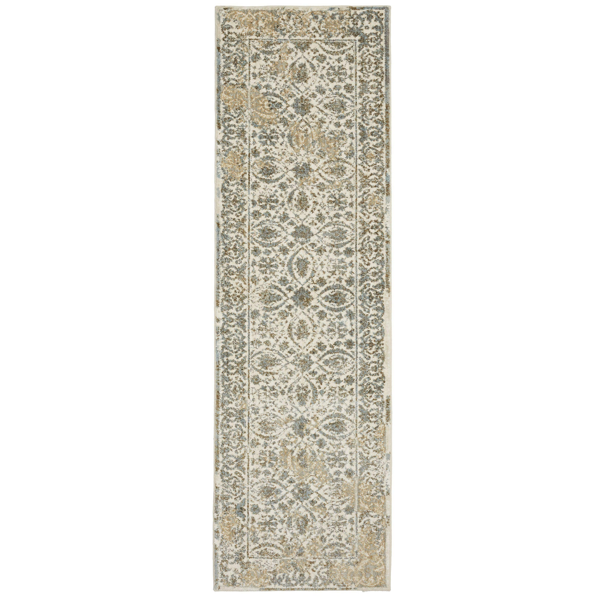 "Karastan Touchstone Ness Willow Grey-Area Rug-Karastan-3' 6""x5' 6""-The Rug Truck"