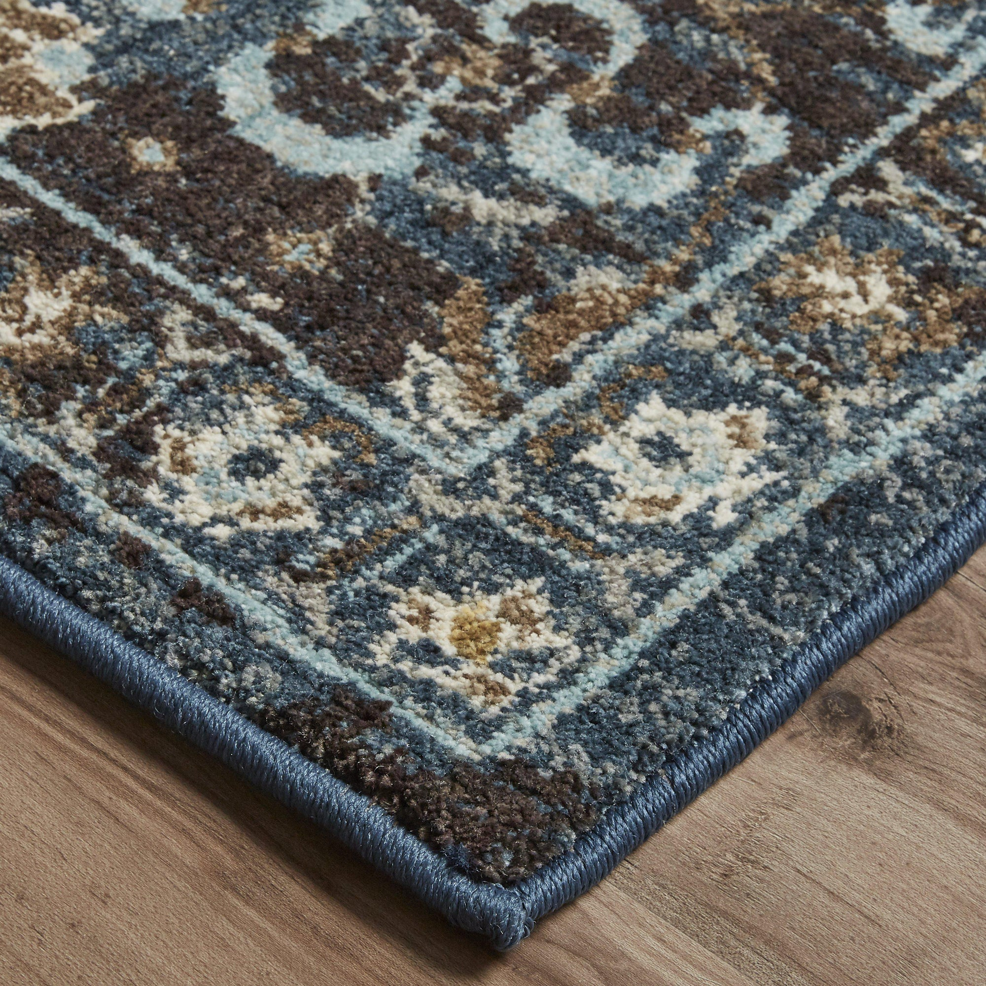 Karastan Touchstone Deveron Blue Teal-Area Rug-Karastan-2'x3'-The Rug Truck