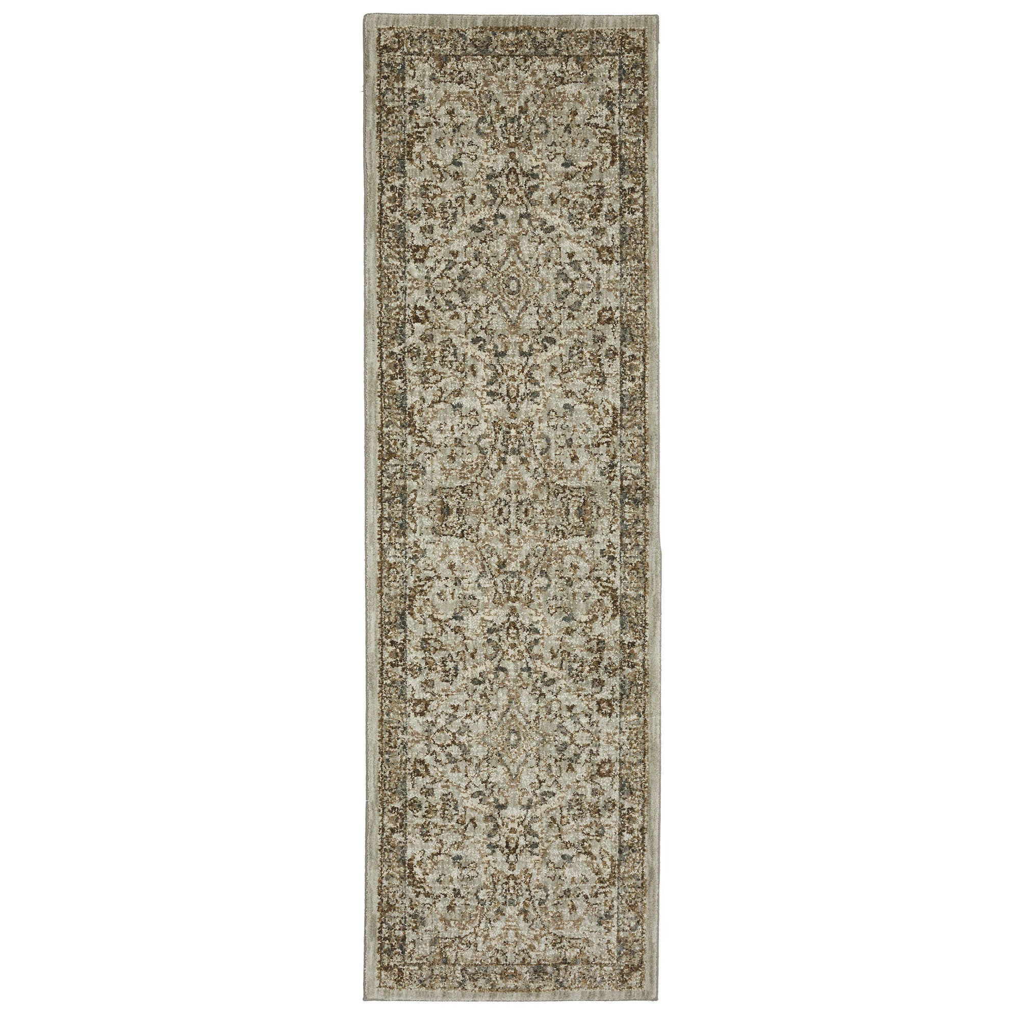 "Karastan Touchstone Portree Willow Grey-Area Rug-Karastan-3' 6""x5' 6""-The Rug Truck"