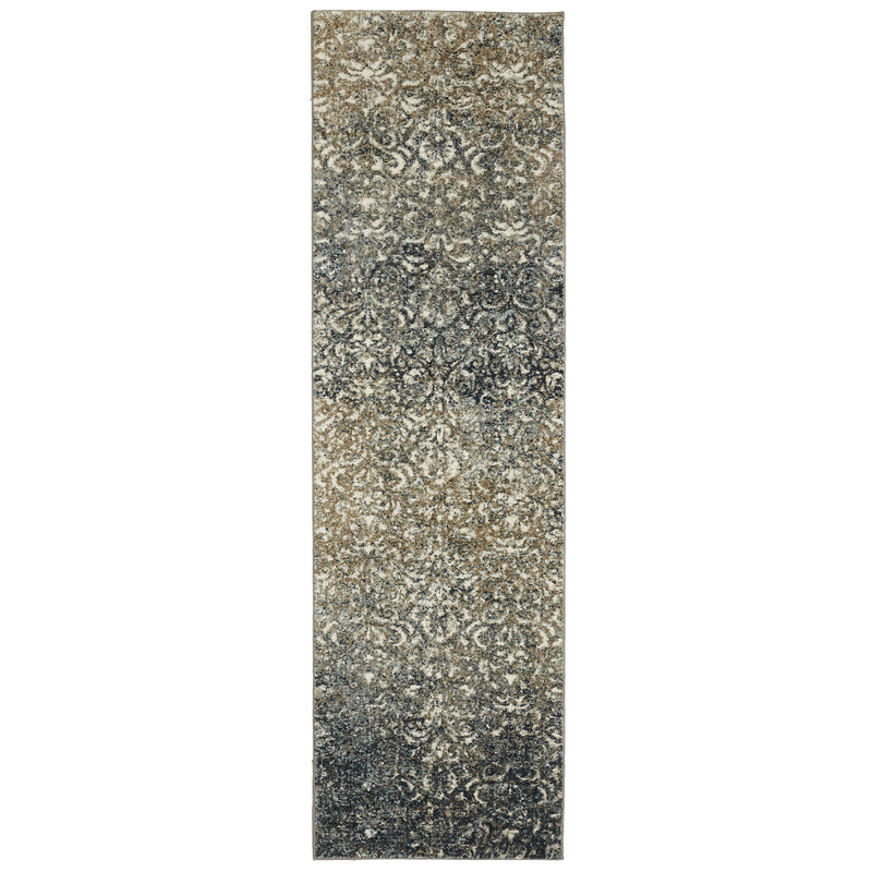 "Karastan Touchstone Melrose Blue Teal-Area Rug-Karastan-3' 6""x5' 6""-The Rug Truck"