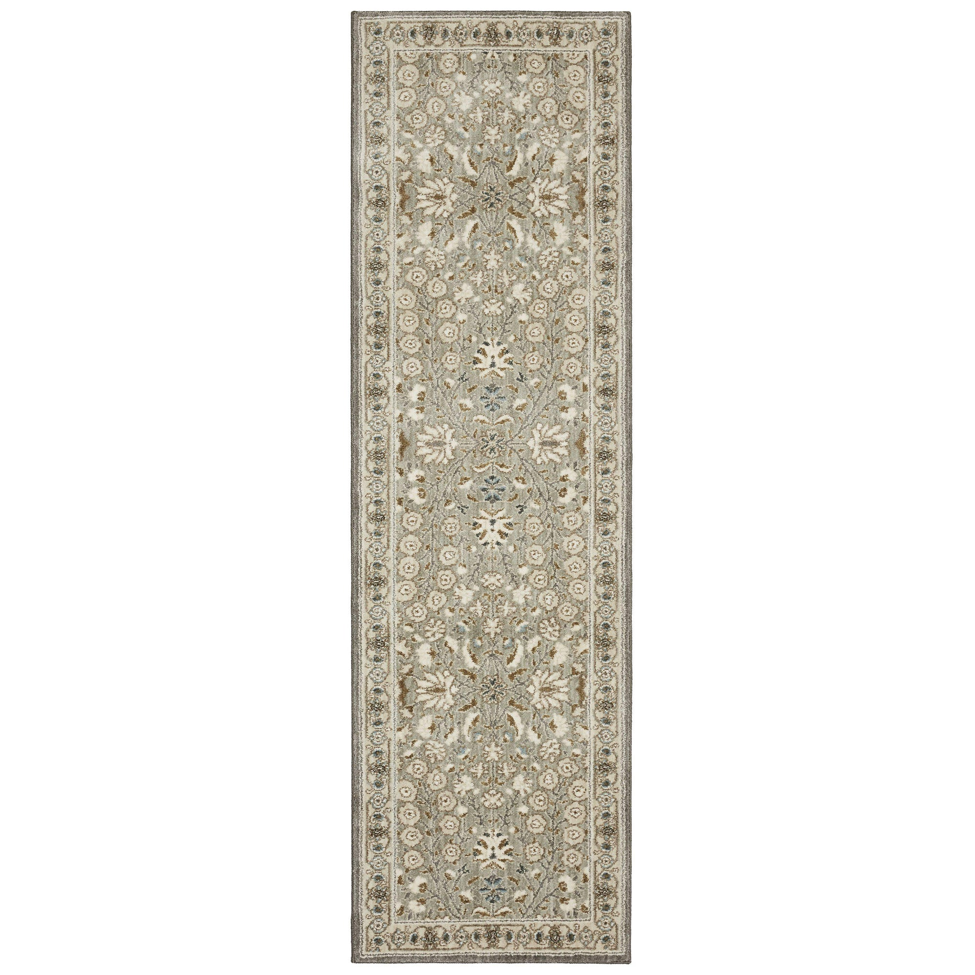 "Karastan Touchstone Sannox Willow Grey-Area Rug-Karastan-3' 6""x5' 6""-The Rug Truck"
