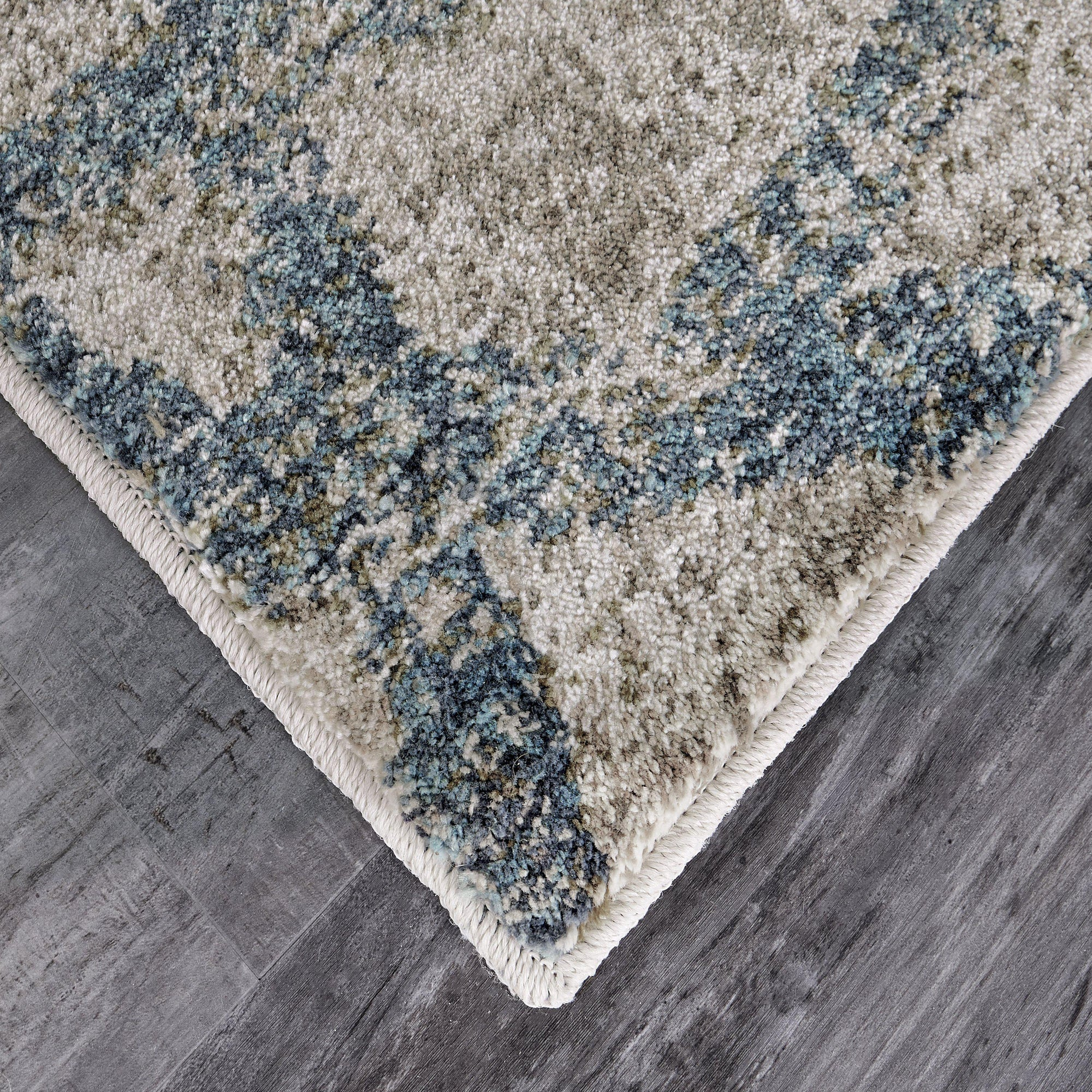 Expressions Solstice Lagoon by Scott Living Area Rug-Area Rug-Scott Living-2'x3'-The Rug Truck