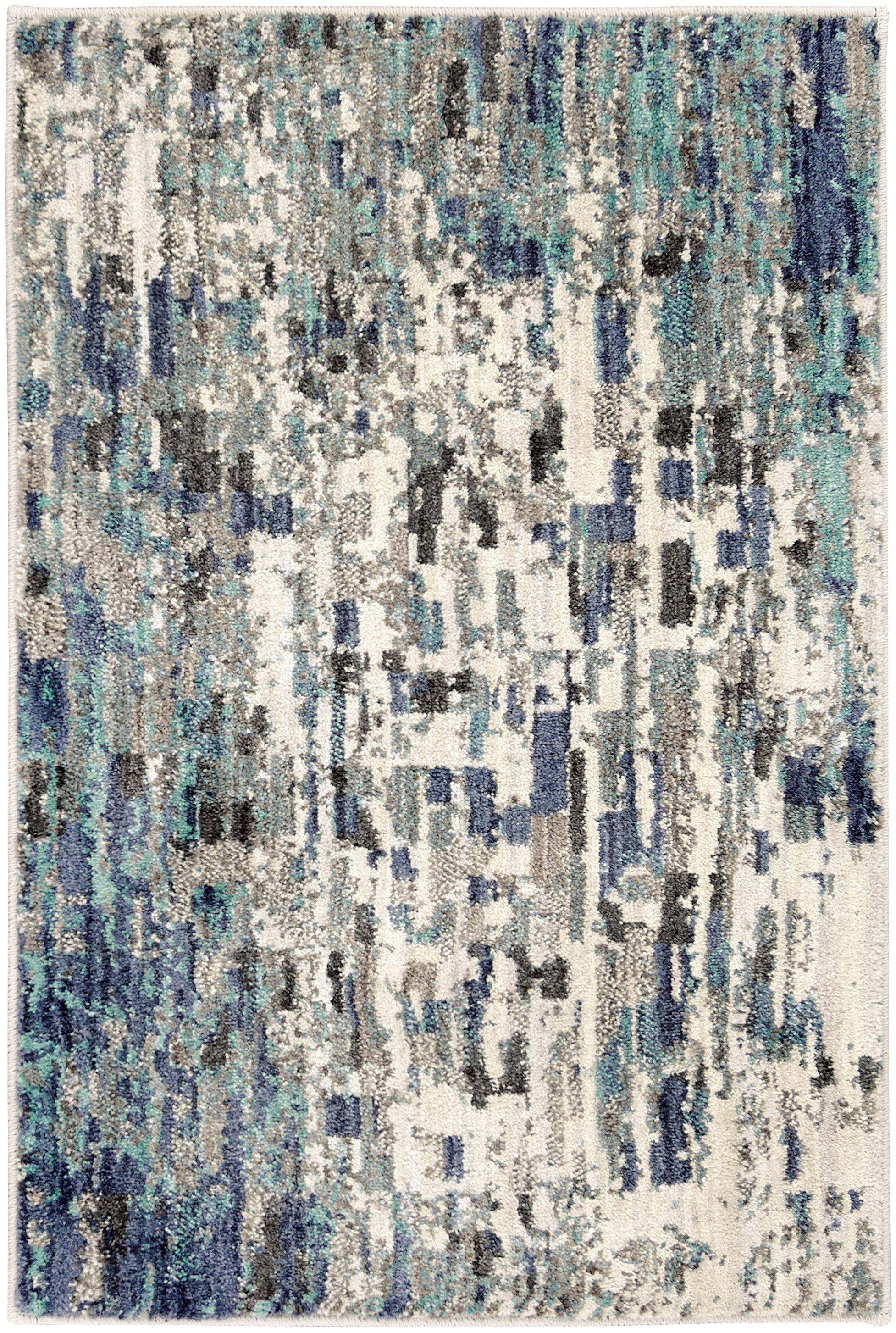 Expressions Precipice Lagoon by Scott Living Area Rug-Area Rug-Scott Living-2'x3'-The Rug Truck
