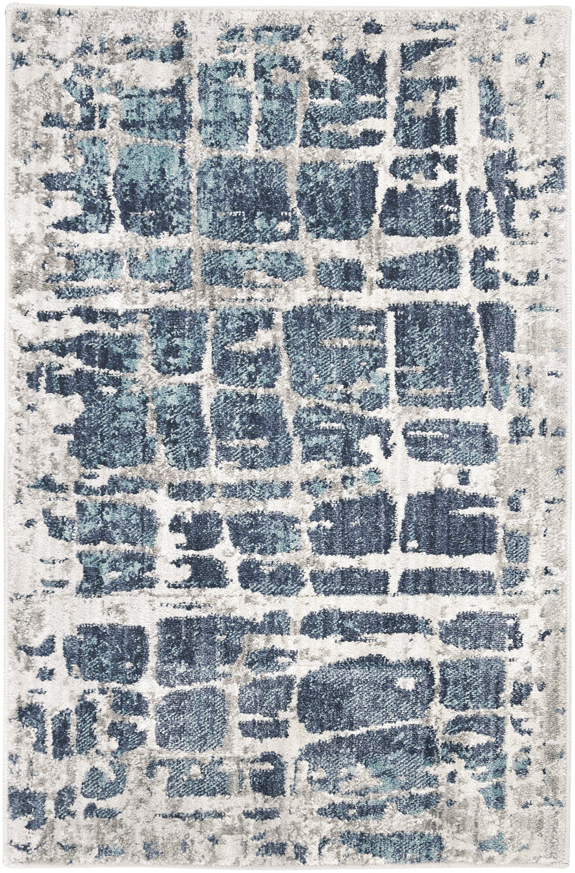 Expressions Elan Lagoon by Scott Living Area Rug-Area Rug-Scott Living-2'x3'-The Rug Truck