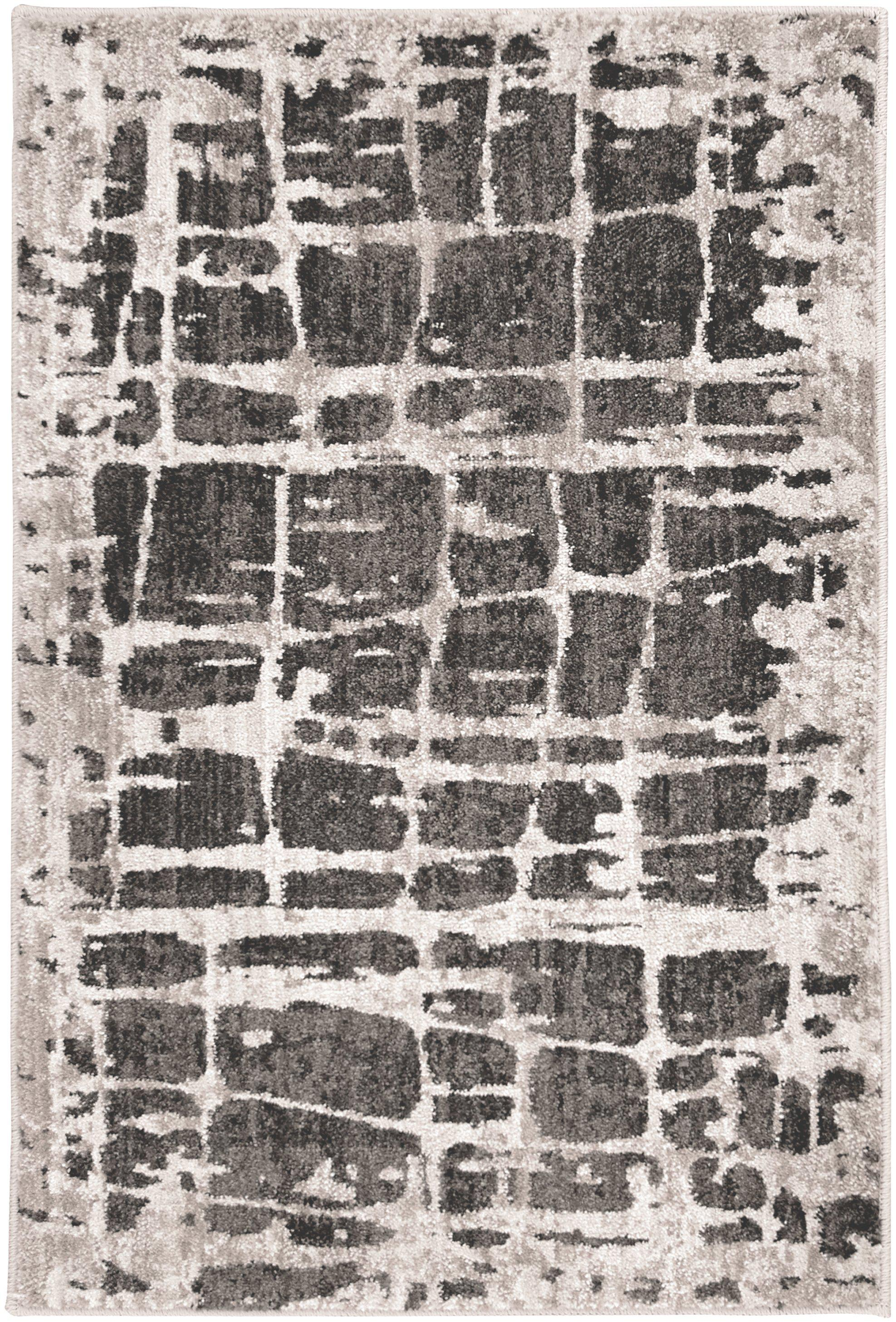 Expressions Elan Onyx by Scott Living Area Rug-Area Rug-Scott Living-2'x3'-The Rug Truck