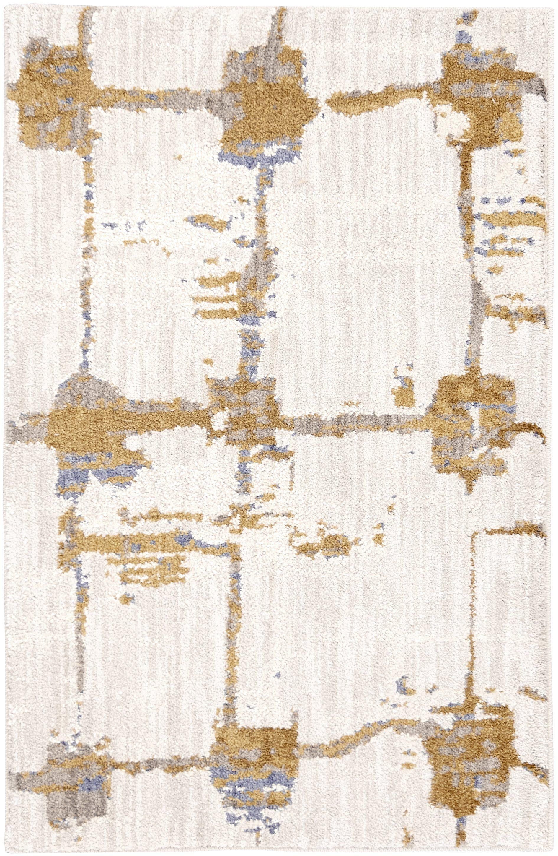 Artisan Mirage Brushed Gold by Scott Living Area Rug-Area Rug-Scott Living-2'x3'-The Rug Truck