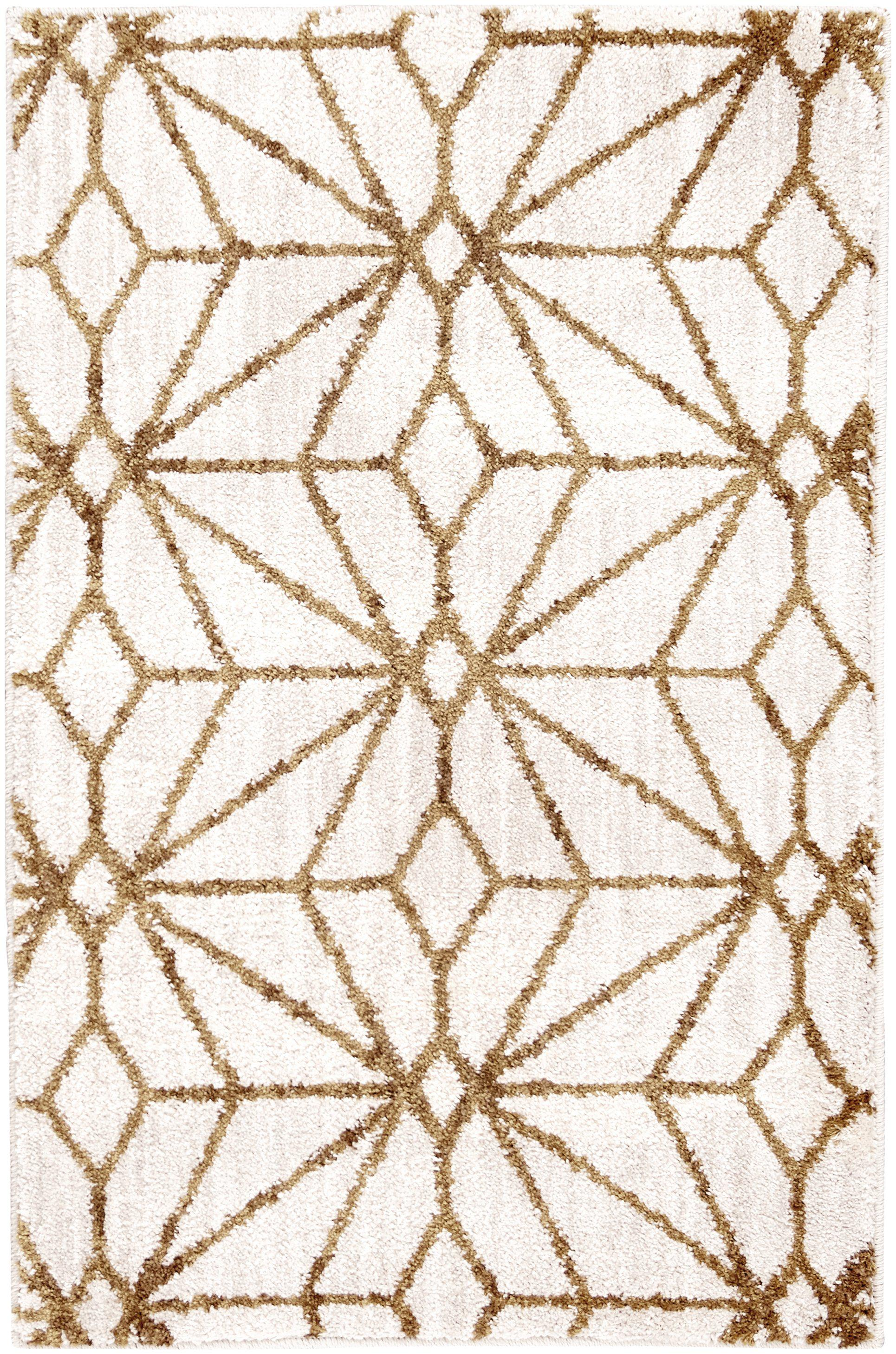 Artisan Celeste Brushed Gold by Scott Living Area Rug-Area Rug-Scott Living-2'x3'-The Rug Truck