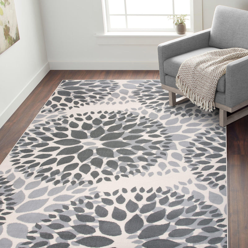 Newport 9099 Gray Area Rug 31 X 5