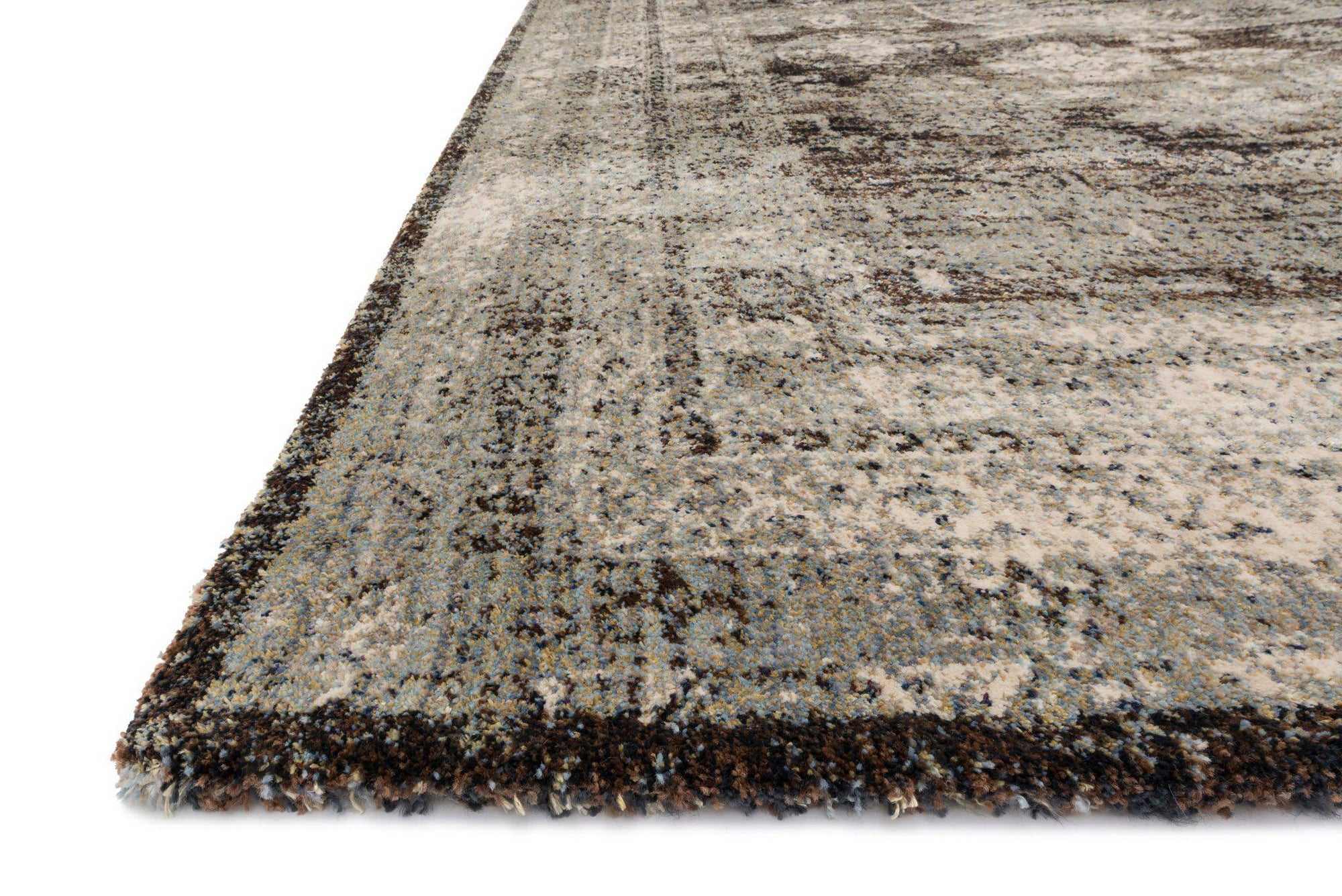 "Anastasia AF-03 Granite-Area Rug-Loloi-2'-7"" X 4'-The Rug Truck"
