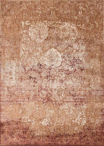"Anastasia AF-18 Copper / Ivory-Area Rug-Loloi-2'-7"" X 4'-The Rug Truck"