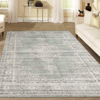 Allora 3563 Green Area Rug (7'10 x 10'6)