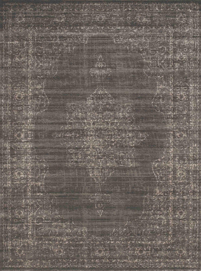Allora 3563 Light Brown Area Rug (7'10 x 10'6)