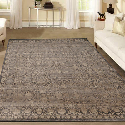Allora 3564 Light Brown Area Rug (7'10 x 10'6)
