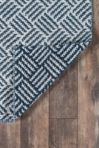 Madcap Cottage by Momeni Baileys Beach Beach Club Navy Indoor/OutdoorArea Rug-Area Rug-Momeni-The Rug Truck
