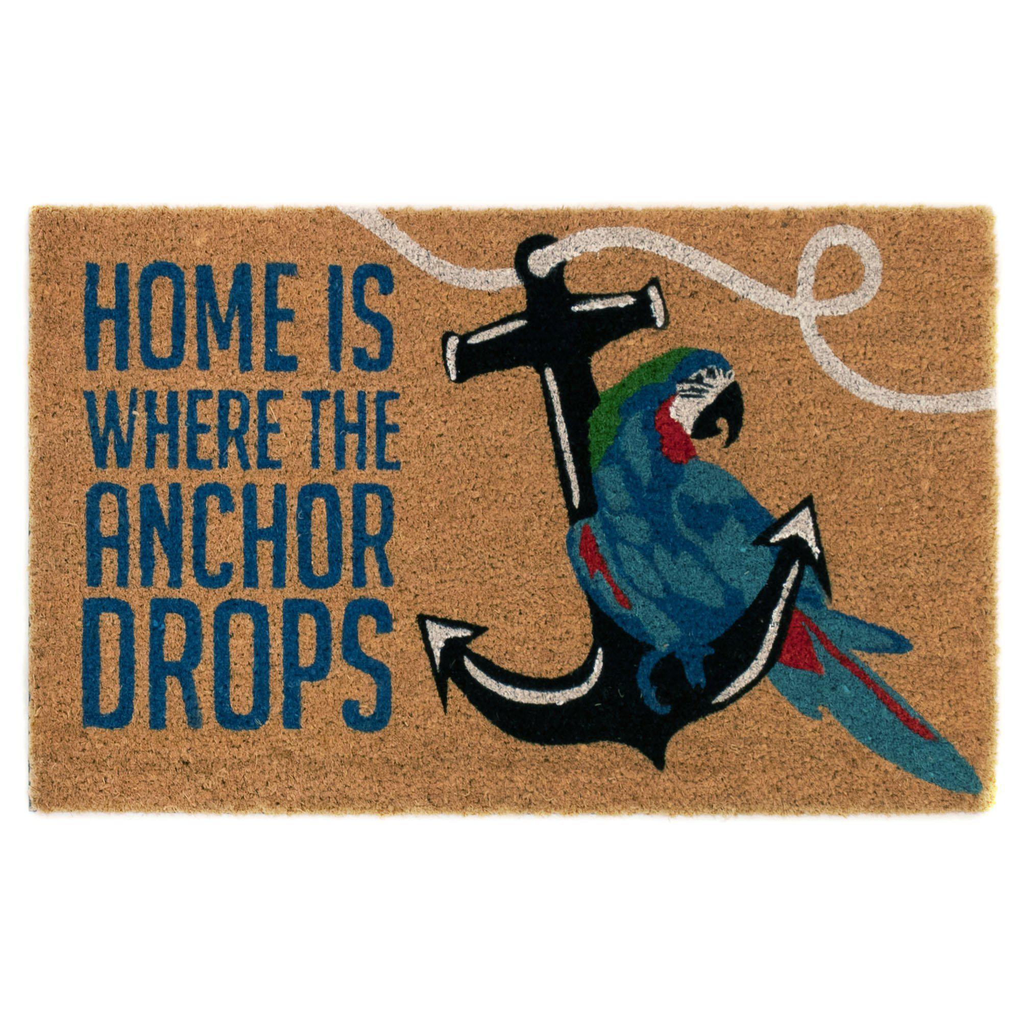 "Liora Manne Cabana Anchor Drop Natural Mats-Area Rug-Trans-Ocean-18""X30""-The Rug Truck"