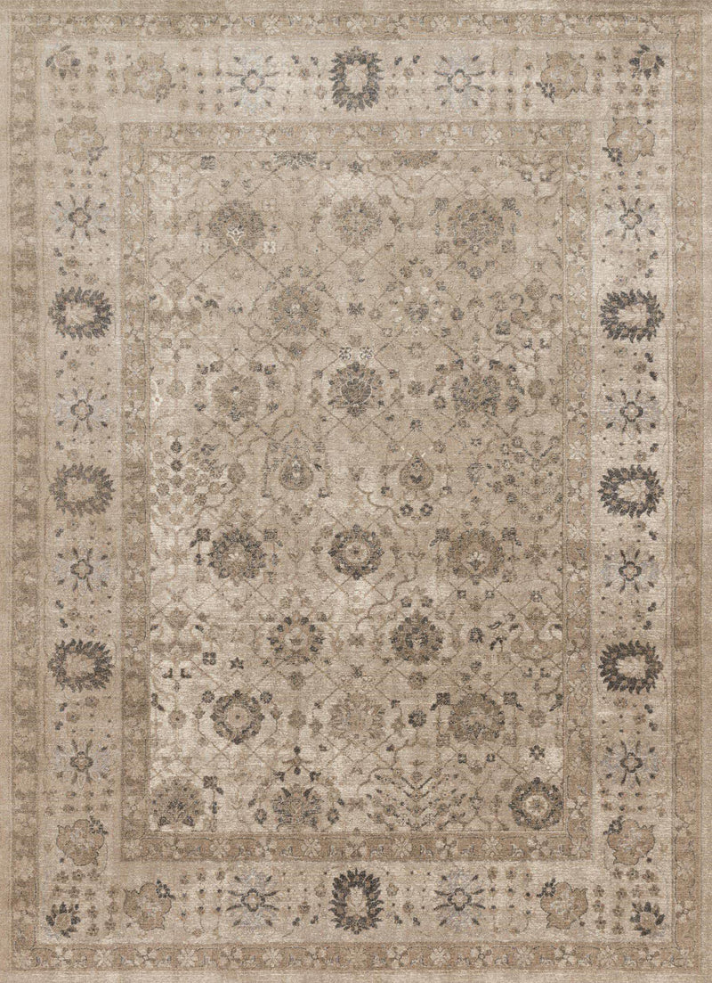 "Century CQ-02 Taupe / Taupe-Area Rug-Loloi-2'-7"" X 4'-The Rug Truck"