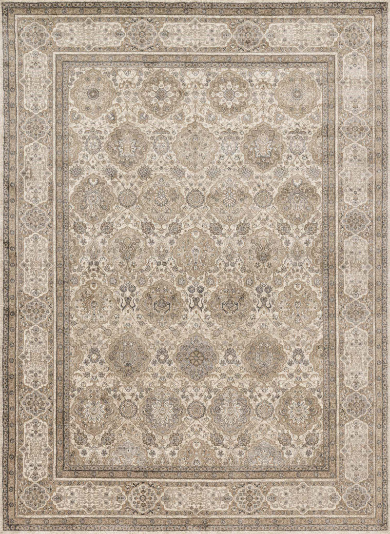 "Century CQ-05 Sand / Taupe-Area Rug-Loloi-2'-7"" X 4'-The Rug Truck"