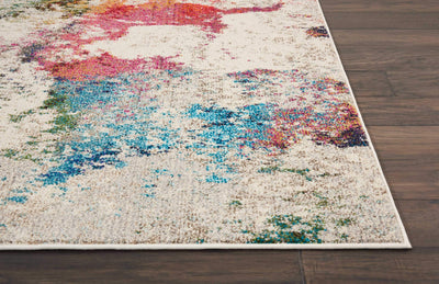 Celestial CES12 Ivory/Multi Area Rug-Area Rug-Nourison-The Rug Truck