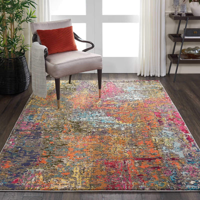 Celestial CES14 Sunset Area Rug-Area Rug-Nourison-The Rug Truck