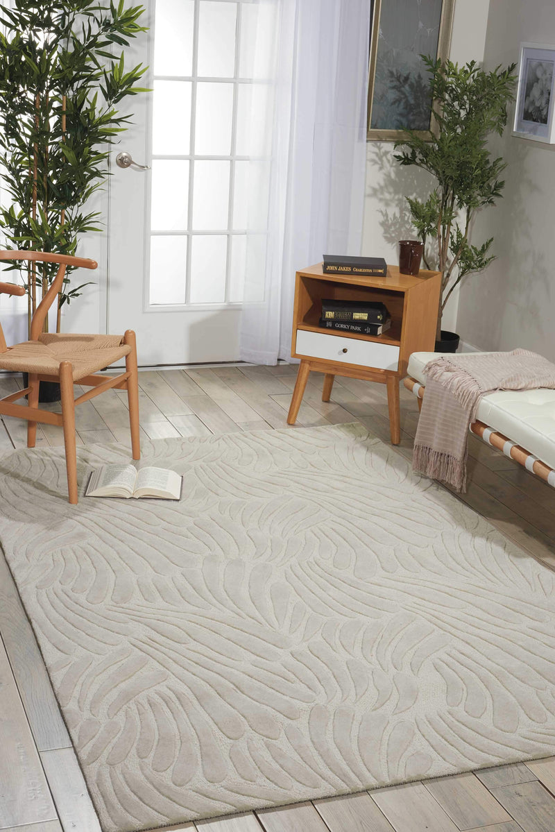 "Create CRN21 Ivory Area Rug-Area Rug-The Rug Truck-3'6"" x 5'6""-The Rug Truck"