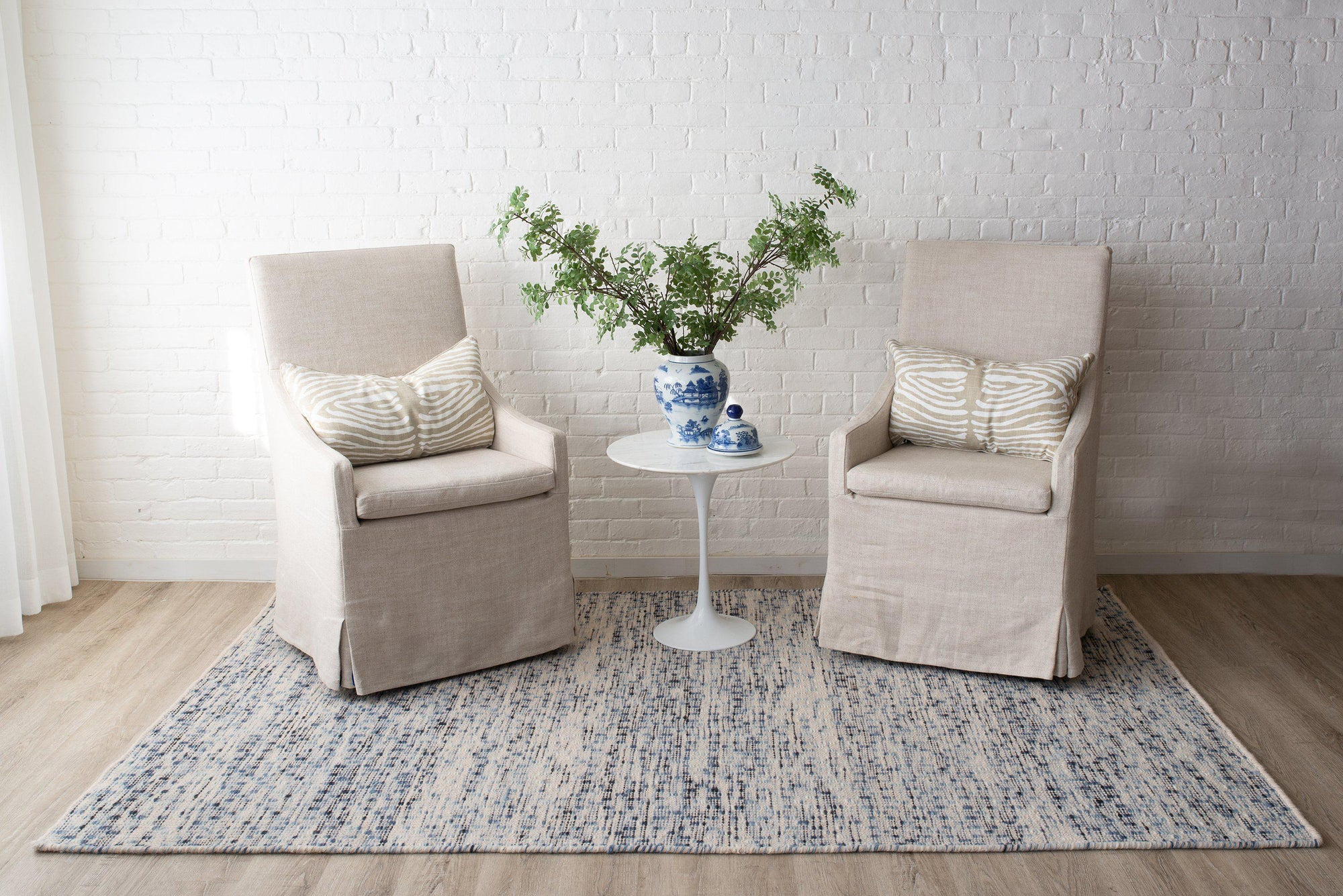Erin Gates Dartmouth DRT-1 Bartlett Blue Area Rug ( 9' X 12' )