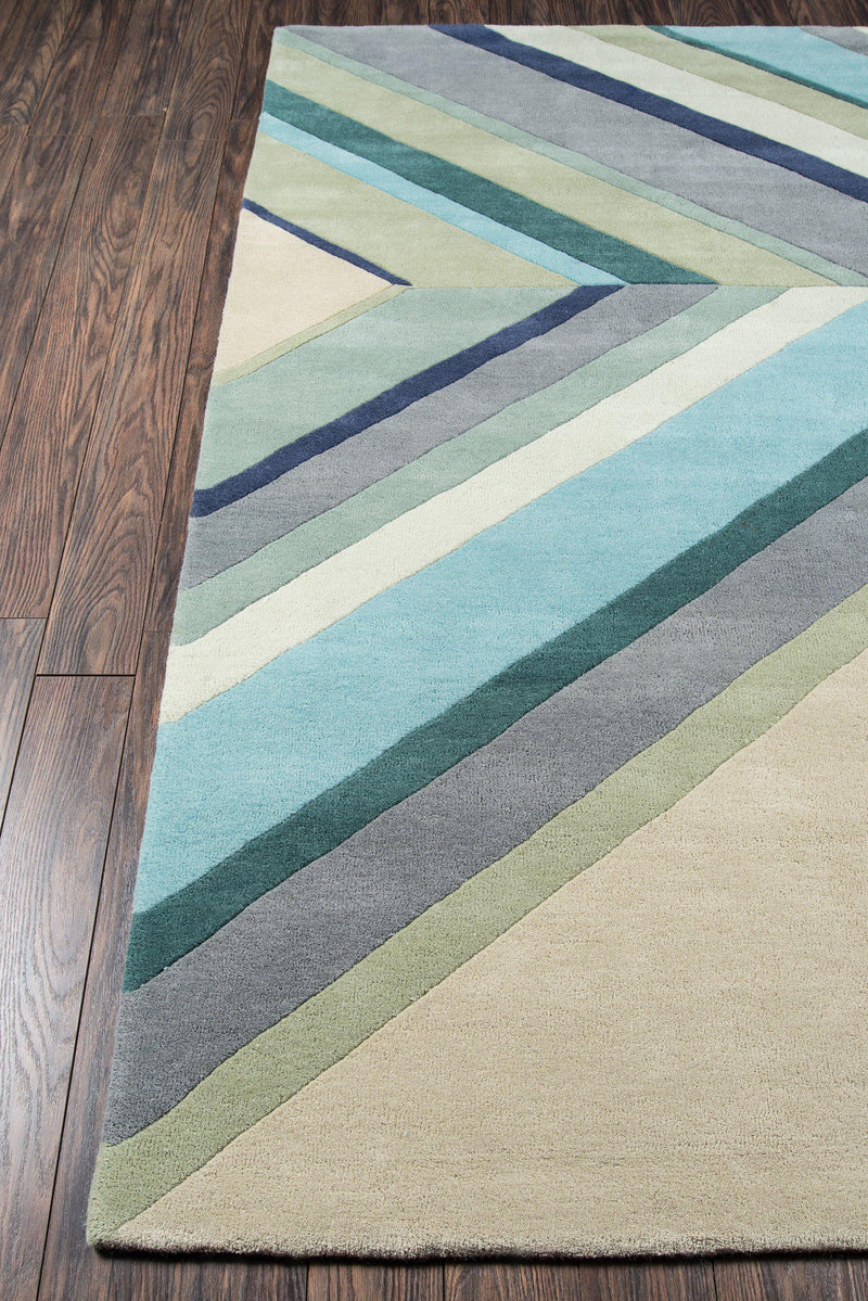 "Novogratz by Momeni Delmar DEL-5 Ultralight Blue Area Rug-Area Rug-Momeni-2'3"" X 8' Runner-The Rug Truck"