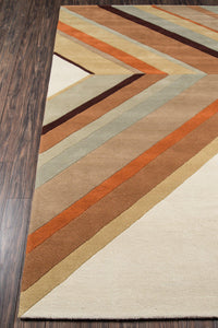 Novogratz by Momeni Delmar DEL-5 Ultralight Brown Area Rug-Area Rug-Momeni-The Rug Truck