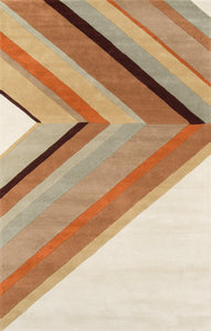"Novogratz by Momeni Delmar DEL-5 Ultralight Brown Area Rug-Area Rug-Momeni-2'3"" X 8' Runner-The Rug Truck"