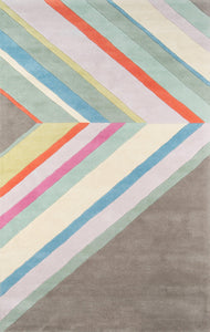 "Novogratz by Momeni Delmar DEL-5 Ultralight Grey Area Rug-Area Rug-Momeni-2'3"" X 8' Runner-The Rug Truck"