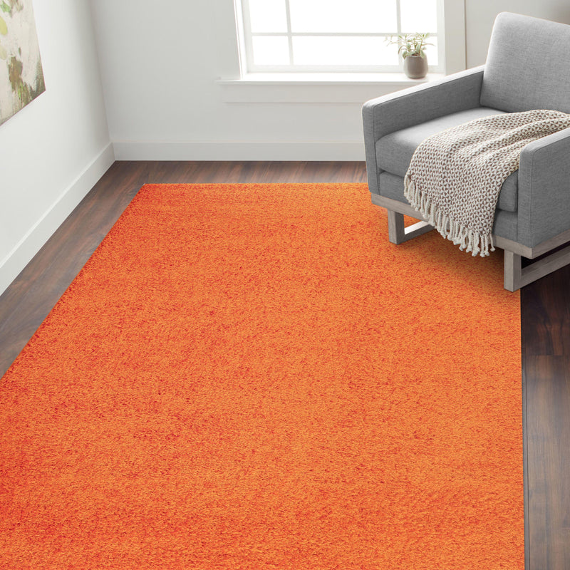 "Florida 2700 Orange Area Rug-Area Rug-World Rug Gallery-3'3"" x 5'-The Rug Truck"