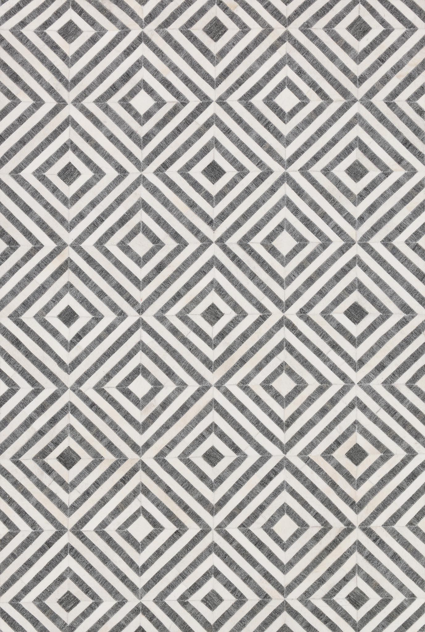 "Dorado DB-03 Charcoal / Ivory-Area Rug-Loloi-2'-6"" x 8'-0""-The Rug Truck"