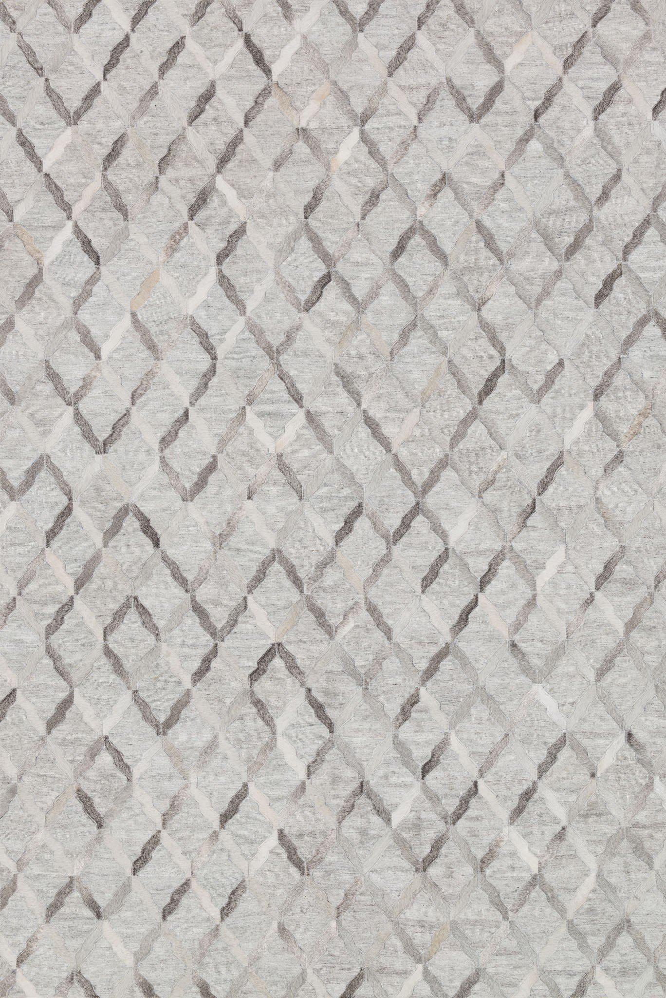 "Dorado DB-04 Grey / Grey-Area Rug-Loloi-2'-6"" x 8'-0""-The Rug Truck"