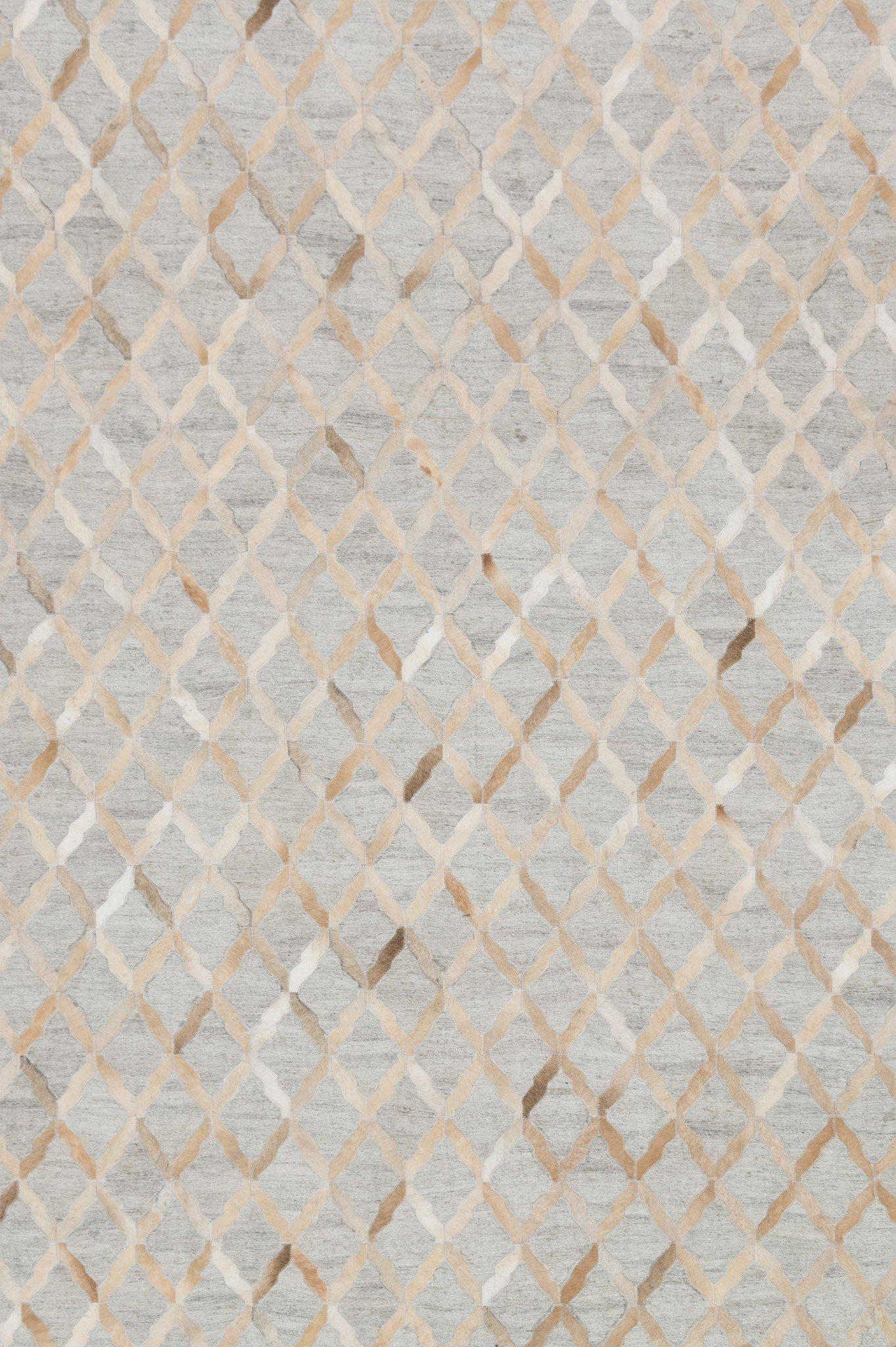 "Dorado DB-04 Grey / Sand-Area Rug-Loloi-2'-6"" x 8'-0""-The Rug Truck"