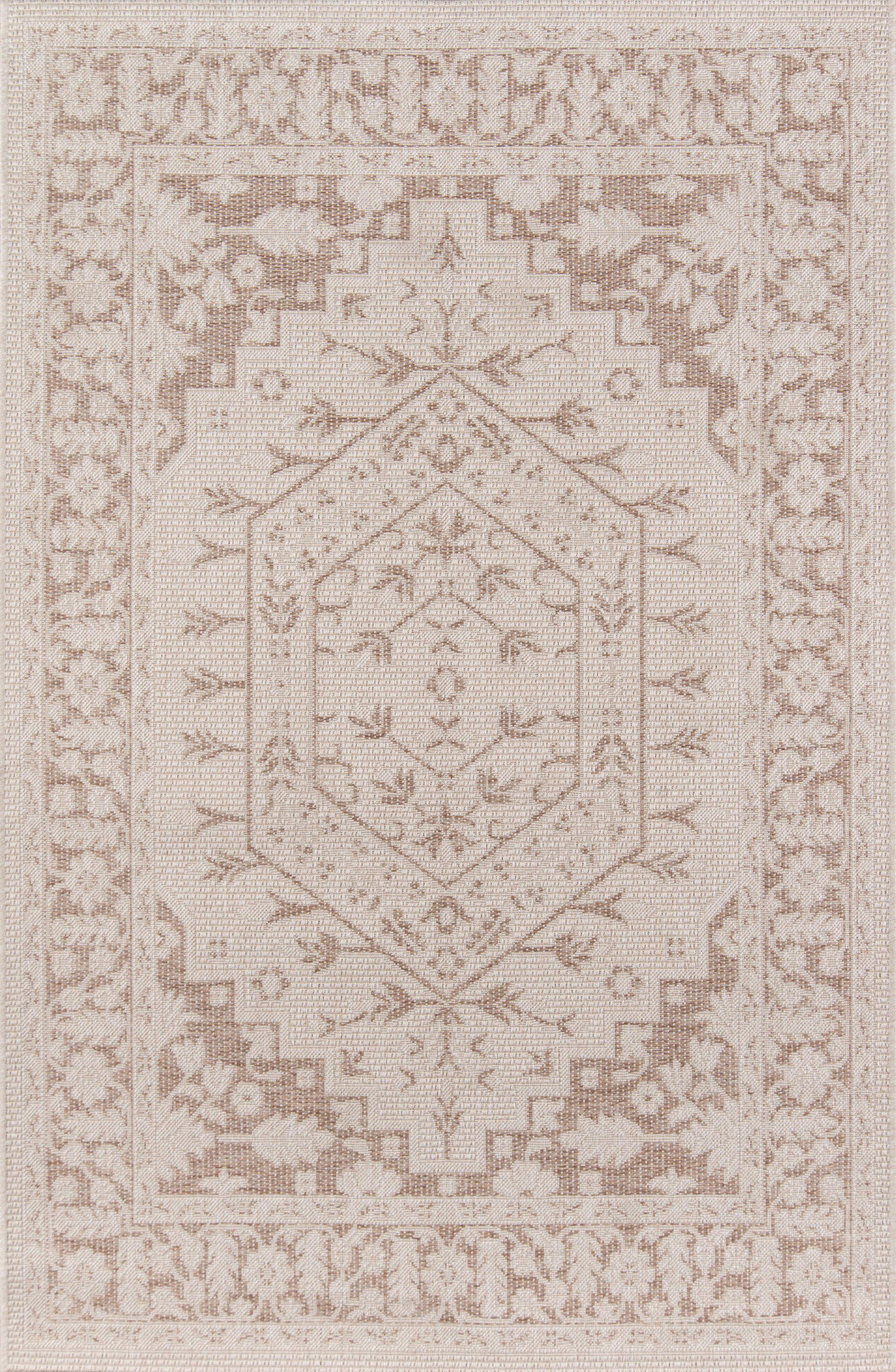 "Erin Gates Downeast DOW-5 Brunswick Beige Area Rug ( 7'10"" X 10'10"" )"